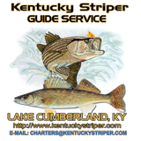 Kentucky Striper Guide Service Business Logo